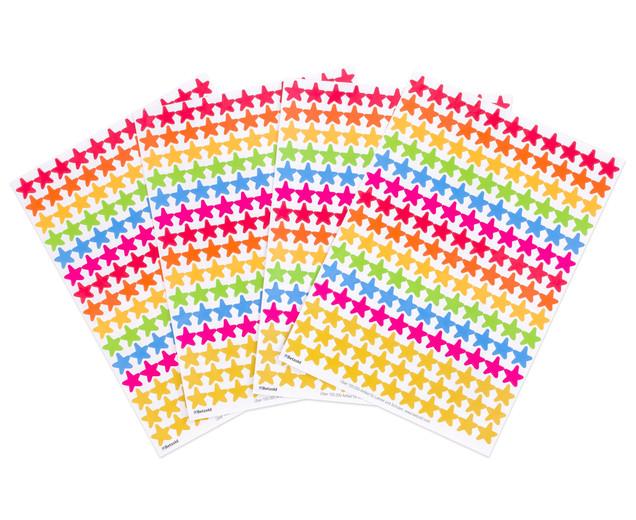 Стикери Награди с форма на звезда, 660 бр.