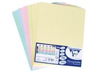 Картон пастел А4 50 листа 5 цвята