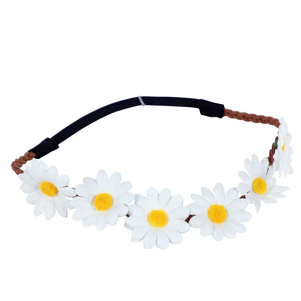 Венец бели цветя