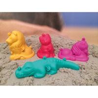 3D Малки форми за игра с пясък, 4 бр.