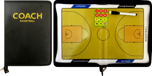 Папка треньорска магнитна баскетбол