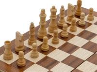 Луксозен комплект 2 в 1 шах и табла
