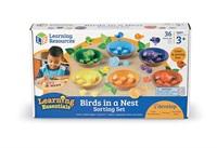 Гнезда с птички за броене и сортиране